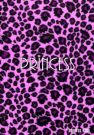 Purple Leopard Print Address Book with Princess on the cover